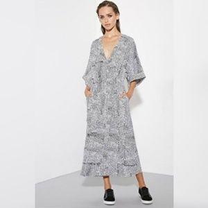 The Fifth Label Dot Wrap Kimono Dress